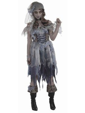 Womens Zombie Pirate Costume