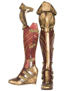 Wonder Woman Adult Boots