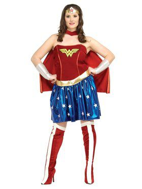 Adult Wonder Woman Plus Costume