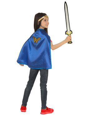 Cape and Sword Wonder Woman Set