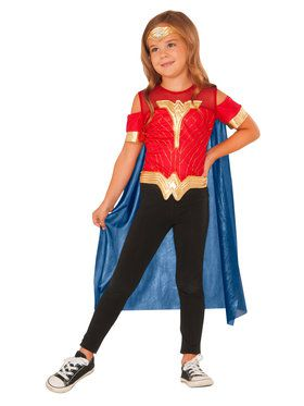 Costume Top Wonder Woman Set
