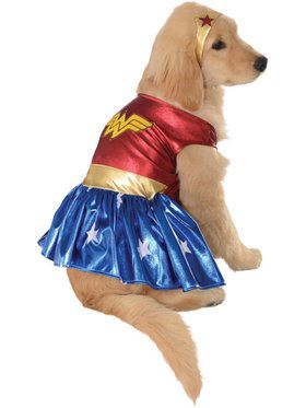 Dog Deluxe Wonder Woman Costume