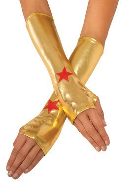Wonder Woman Costume Gauntlets 2018 Halloween Costume Accessories