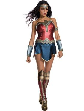 Wonder Woman Movie - Wonder Woman Adult Costume  sc 1 st  BuyCostumes.com & DC Comics Costumes - Halloween Costumes | BuyCostumes.com
