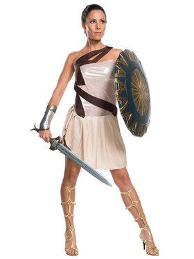 Wonder Woman Movie - Wonder Woman Adult Beach Battle Deluxe Women's Costume