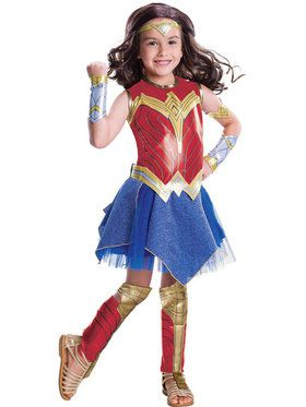 Deluxe Girl's Wonder Woman Movie - Wonder Woman Costume