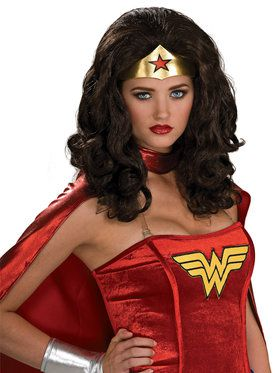 Wonder Woman Costume Wig Accessory