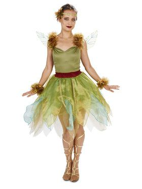 Woodland Princess Adult Costume  sc 1 st  BuyCostumes.com & Fairy and Elf Costumes - Kids and Adults Halloween Costumes ...