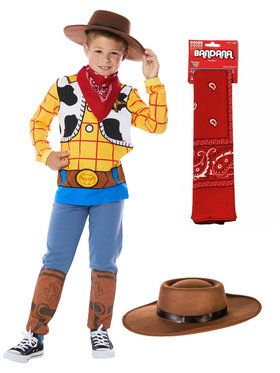 Woody Boy's Toy Story 4 Costume Kit (Large)