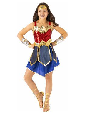 Child Deluxe Wonder Woman WW2 Costume