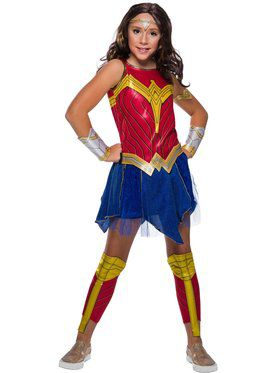 Child Deluxe Wonder Woman WW2 Movie Costume