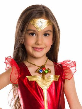 Kid's Wonder Woman Movie Light-Up Necklace