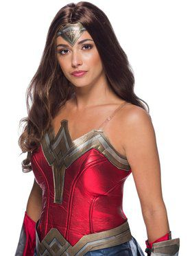 Wonder Woman WW2 Movie Adult Secret Wishes Wig