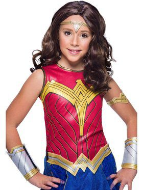 Wonder Woman WW2 Movie Child Wig