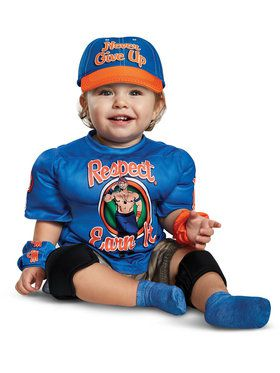 WWE John Cena Infant Muscle Costume