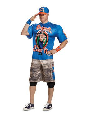 WWE John Cena Muscle Adult Costume