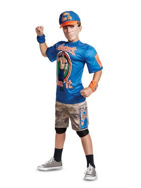 WWE John Cena New Classic Muscle Child Costume