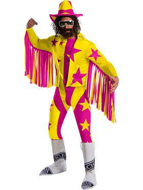 WWE Macho Man Randy Savage Deluxe Adult Costume