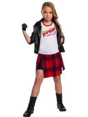 "WWE ""Rowdy"" Ronda Rousey Deluxe Child Costume"