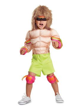 Child Retro Wrestler Costume