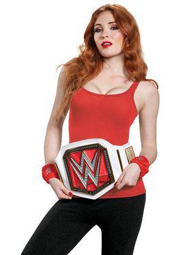 WWE Womens Champion Adult Costume Kit One-Size