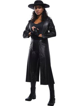 WWE Women's Undertaker Adult Costume
