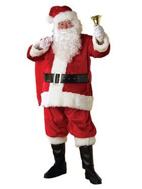 X-large Deluxe Regency Santa Suit Costum