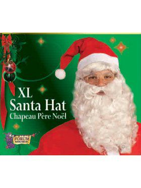 XL Adult Plush Santa Hat