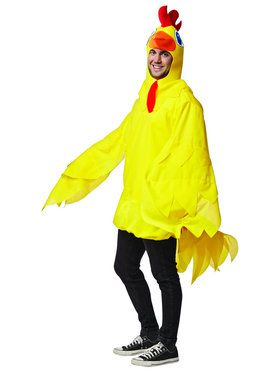 Yellow Chicken Adult Costume