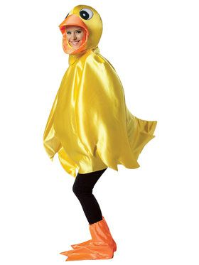 Yellow Duck Adult Costume