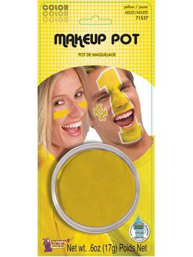 Yellow Face Paint