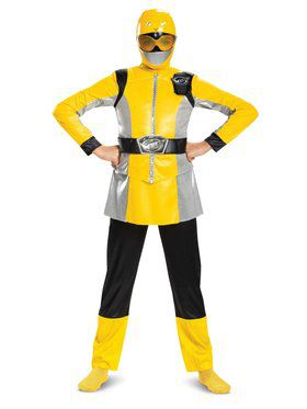 Yellow Ranger Beast Morpher Deluxe Child Costume