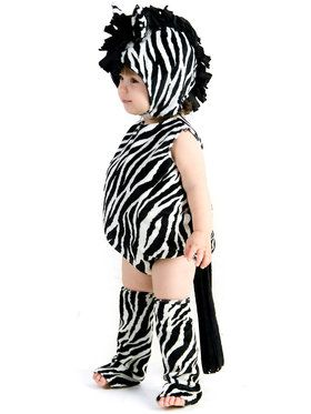 Zaney Zebra Infant Costume