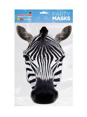 Face 2018 Halloween Masks - Zebra