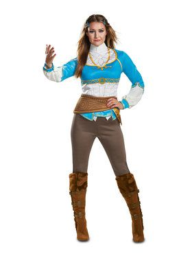 Womens Breath of the Wild Zelda Costume