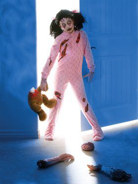 Zombie Girl Costume for Tweens