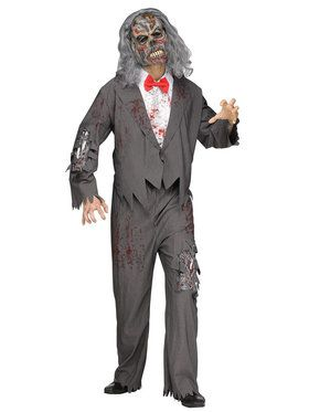 Zombie Groom Adult Costume One-Size