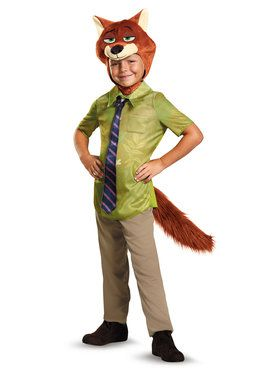 Zootopia Nick Wilde Classic Toddler Costume 3-4T